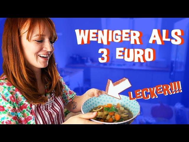 """3 einfache, vegane Rezepte unter 3 Euro mit """"Vegan ist ungesund"""""""