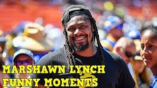 Marshawn Lynch Funny Moments Compilation