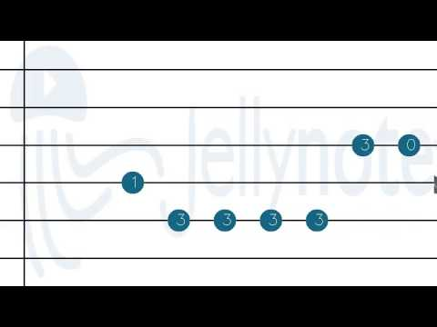 Guitar jellynote guitar tabs : The Hills - The Weeknd [Guitar tabs] Jellynote - YouTube