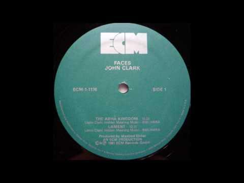 "John Clark ""Faces"" (1980) ECM vinyl LP"