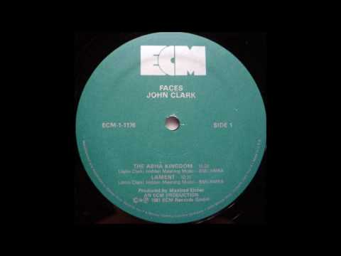 "John Clark ""Faces"" (1980) ECM vinyl LP"