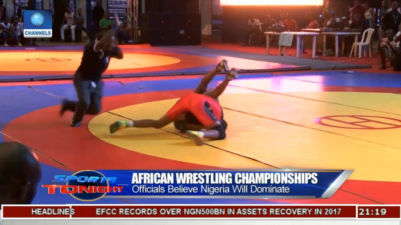 Officials Believe Nigeria will Dominate African Wrestling Champ   Sports Tonight  