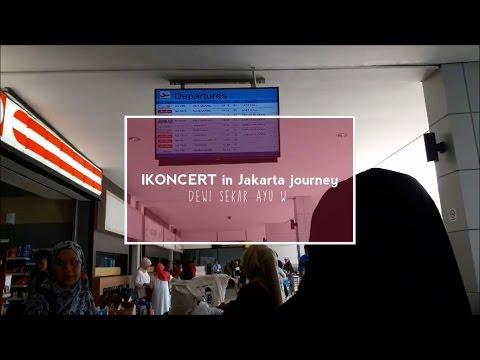 iKONCERT in jakarta journey