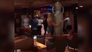 Violent brawl breaks out on Carnival cruise ship