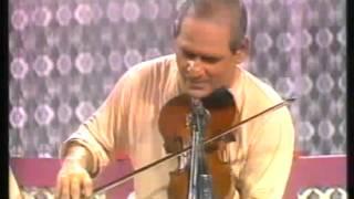 Vidwan D.K.Datar - Violin (Rare archival footage)