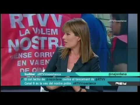 Programa especial de RTVV arran l'anunci de tancament (06.11.2013)