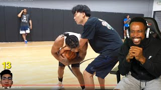HEATED PHYSICAL 1v1! RICEGUM TOUGH 1v1 Basketball Against DDG!