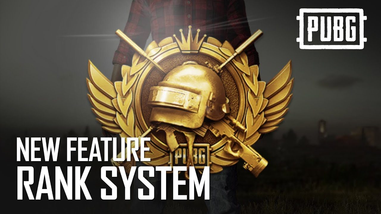 PUBG - New Feature - Rank System