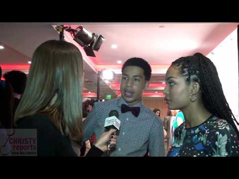 BLACKISH STARS YARA SHAHIDI & MARCUS SCRIBNER INTERVIEW   CHRISTYreports.com