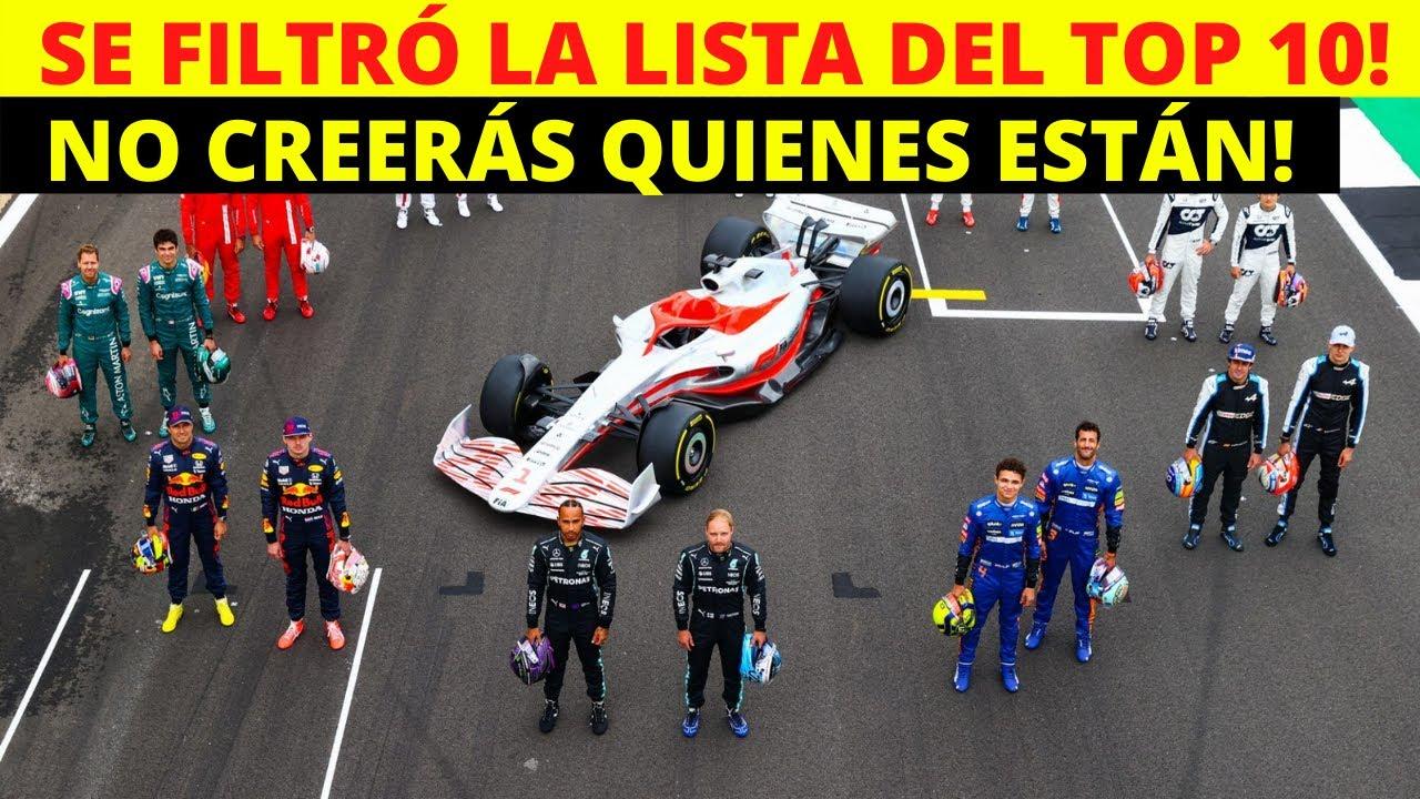 SORPRENDENTE! TOP 10 de los pilotos MEJOR PAGADOS de la Fórmula 1 | Darius Motors.