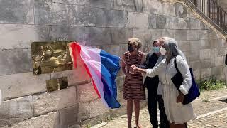 Avignon : une plaque dévoilée pour les 25 ans d'inscription au patrimoine mondial