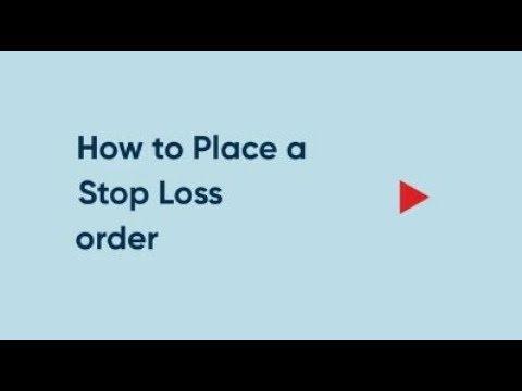Trading platform med automatisk stop loss