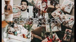 3 einfache DIY LAST MINUTE Geschenkideen, die JEDEM gefallen! | Sami Slimani
