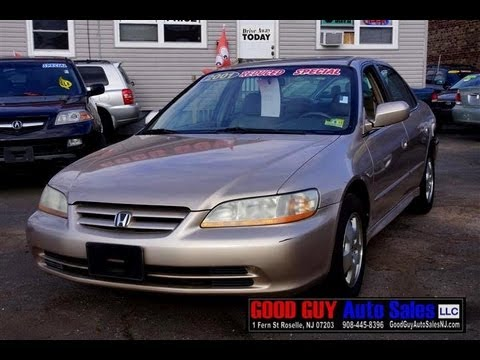 2001 Honda Accord EX L V6 Sedan