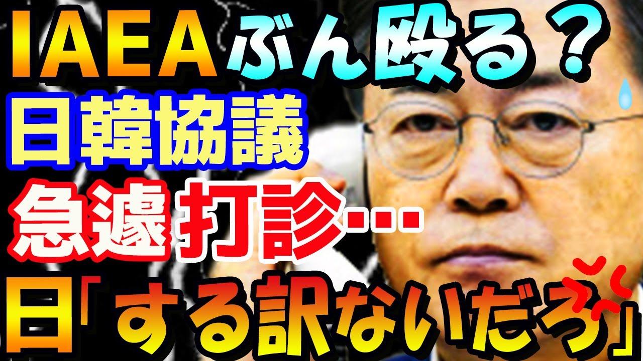 【韓国の反応】衝撃!韓国が謎の日韓協議体を勝手に推し進め日本政府に打診…日本との二国間協議を速攻でものにしなければならない事情が透けて見え日本政府困惑「IAEAからぶん殴られた?」