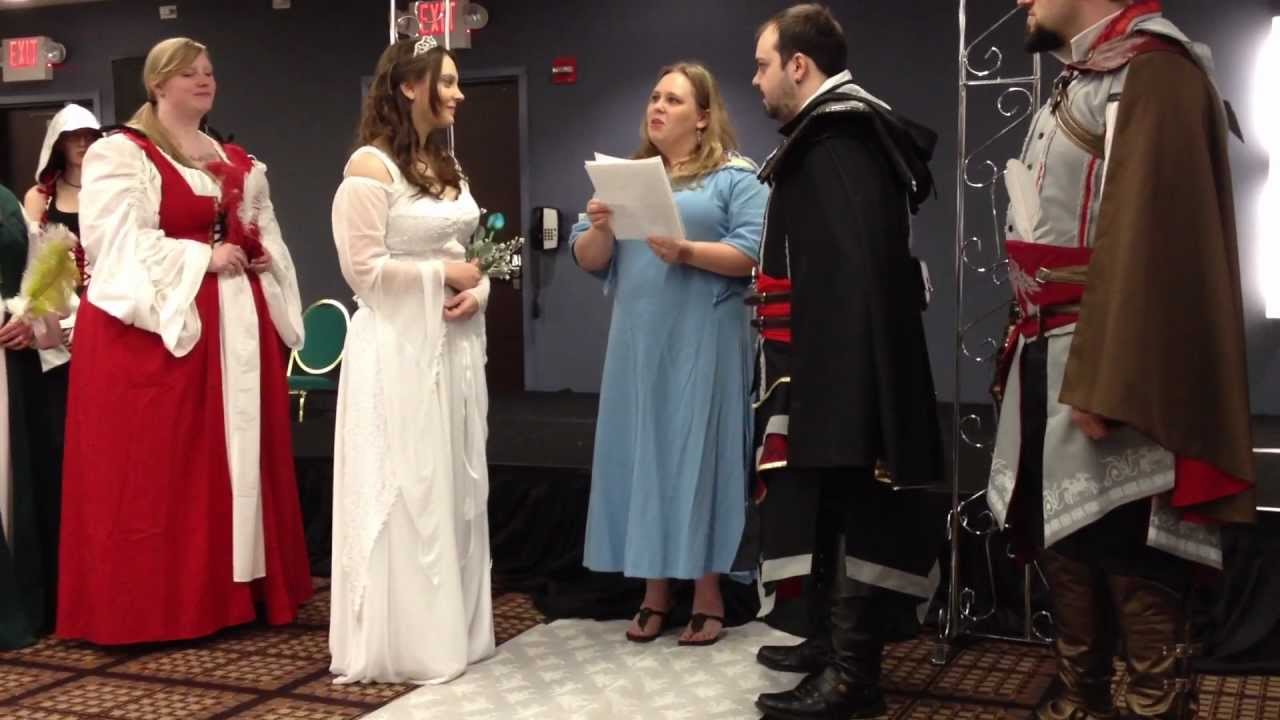 Anime Central 2012 Assassins Creed Wedding Part 1 Of 2 Youtube