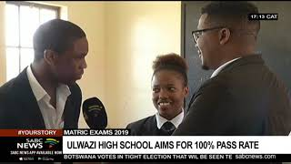 Matric Exams 2019 | Eastern Cape school aims for 100% pass rate