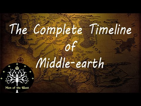 The Complete Timeline Of Middle-earth