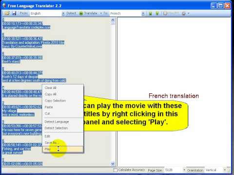 Translate Srt Or Sub Movie Subtitles Easy And Freely Youtube