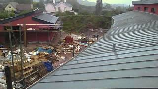 Passivhaus time lapse 08 - Rendering and zinc roofing.