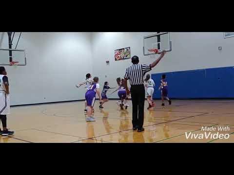 Oklahoma  - Olivia Watkins 2025 (Lawton Middle School) Tomlinson vs EHS 7th Gd Girls