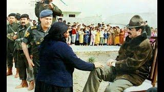 ماذا طلبت هذه العجوز من الرئيس صدام حسين عام ١٩٨٢ حينما زار مدينتها ؟ أرشيف العراق