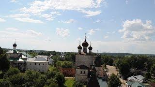 Борисоглебский монастырь(Вид с колокольни Борисоглебского монастыря на город. Борисоглебский монастырь расположен недалеко от..., 2014-06-10T20:24:33.000Z)