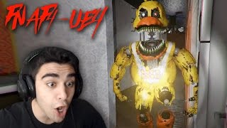 NIGHTMARE CHICA WANTS REVENGE!!!! - Five Nights at Freddy's 4 (UNREAL ENGINE 4 VERSION!)