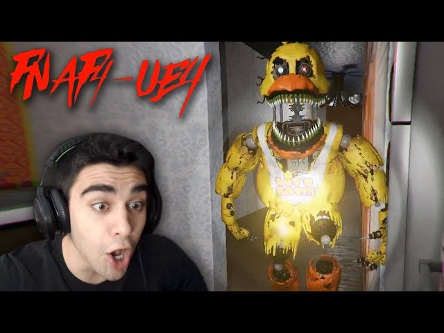 NIGHTMARE CHICA WANTS REVENGE!!!! - Five Nights at Freddys 4 (UNREAL ENGINE 4 VERSION!)