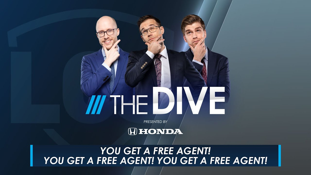 The Dive | YOU get a Free Agent! YOU Get A Free Agent! YOU Get a Free Agent!