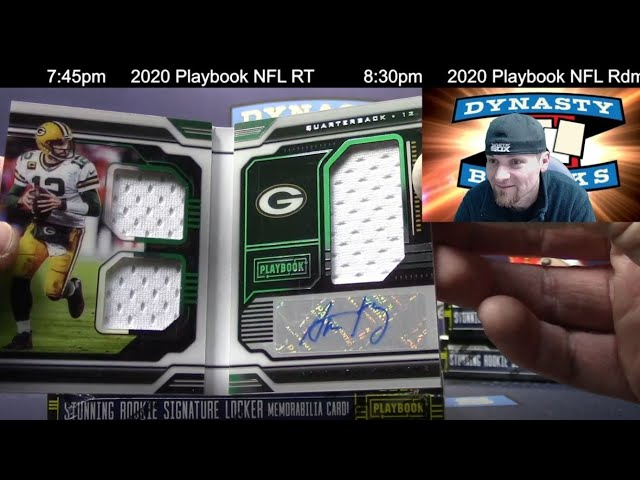 2020 Playbook Football Card 8 Box Case Break #4   Sports Cards