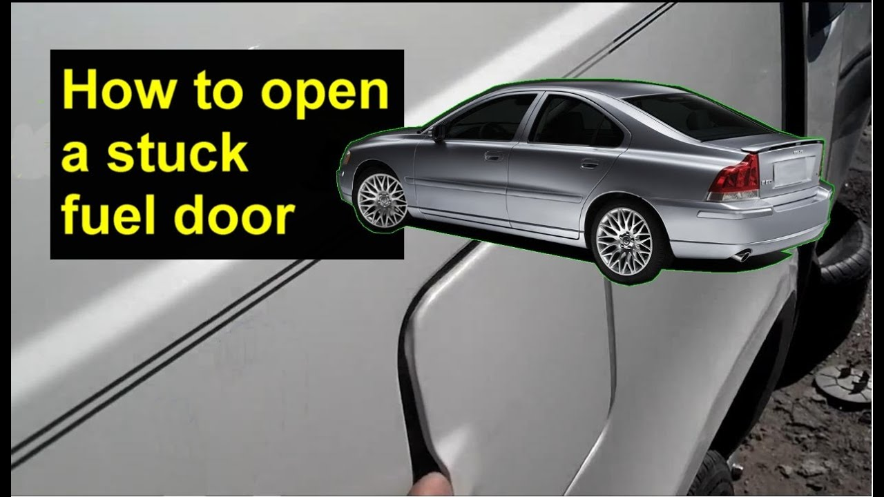 hight resolution of fuel door emergency release volvo s80 s60 v70 s40 xc90 etc auto repair series youtube
