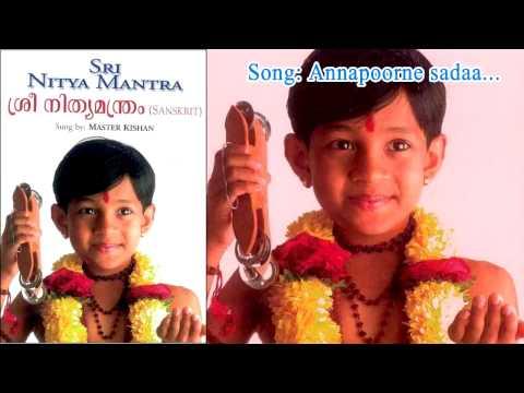 Annapoorne sadaa -  Sree Nithyamanthram