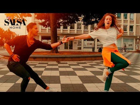 ED SHEERAN & JUSTIN BIEBER - I Don't Care - Salsa Dance - Daniel Rosas & Denise Fabel (2019)