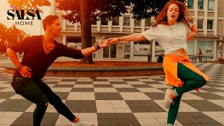ED SHEERAN & JUSTIN BIEBER - I Don't Care - Salsa Dance - Daniel Rosas & Denise Fabel (2019)