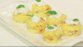 اكواب البطاطس المهروسة | نادية سرحان