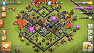 Max that Th8! | Clash of Clans Greek barbarian king lv9!