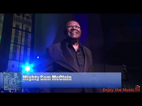 Blues Masters at the Crossroads 2014 Concert: Mighty Sam McClain