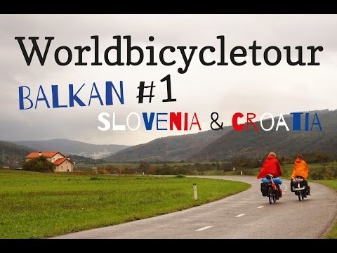 Bicycletouring Balkan - Slovenia and Croatia - GER with ENG subtitles