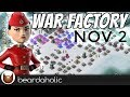 Boom Beach Gearheart War Factory Unboosted Gameplay Smooka Walkthrough for Nov 2, 2017
