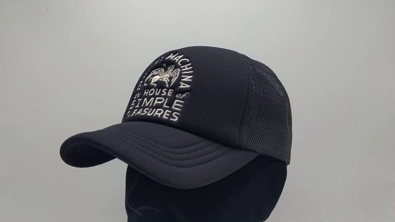 Black Deus Hat Trucker House