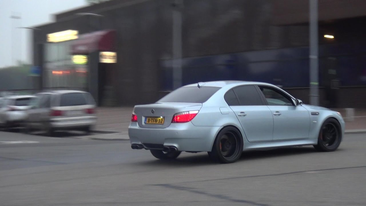 850hp Bmw M5 E60 G Power Loud Revs And Powerslides Youtube