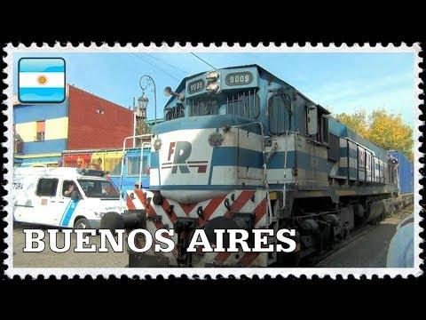 il treno del Boca, il rione italiano di Buenos Aires / El tren de la Boca