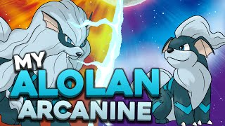 ALOLAN FORM OF ARCANINE CONCEPT DESIGN!   Pokemon Sun and Moon Alolan Forms!