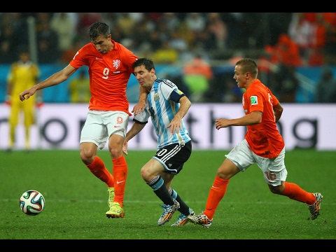 Lionel Messi vs The Netherlands (FIFA World Cup) (2014) 1080i HD  by LMcomps10i