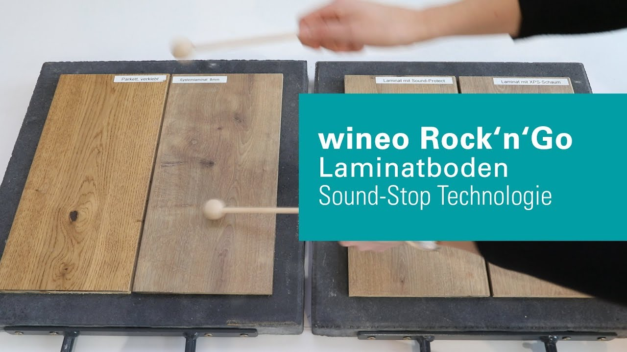 Wineo Rock N Go Laminate Floor With System Wineo