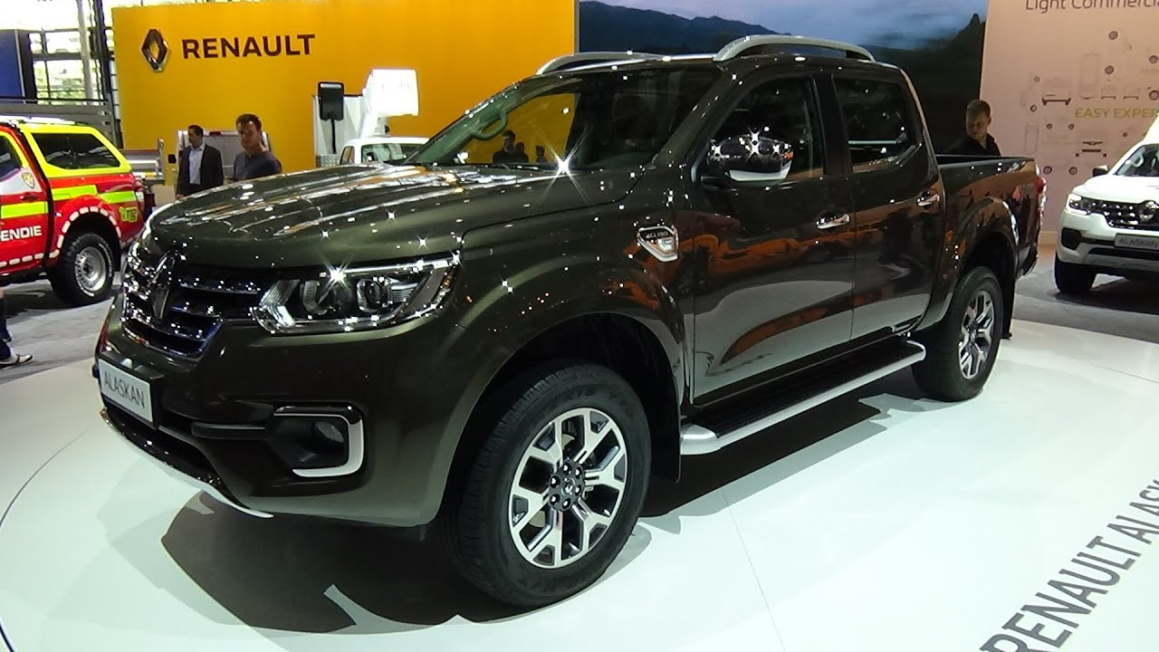 2017 renault alaskan exterior and interior iaa hannover 2016 youtube. Black Bedroom Furniture Sets. Home Design Ideas