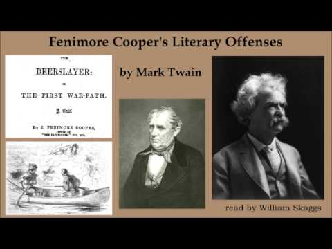 mark twain essay on james fenimore cooper