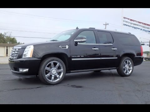 2011 cadillac escalade esv premium all wheel drive for. Black Bedroom Furniture Sets. Home Design Ideas