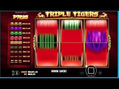 201 - Triple Tigers Classic Slot Machine Game Online Casinos - #casino #slot #onlineslot #казино